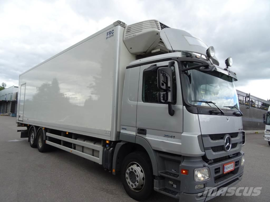 Mercedes benz actros 2541 til salgs 2012 i espoo finland for Mercedes benz richmond bc