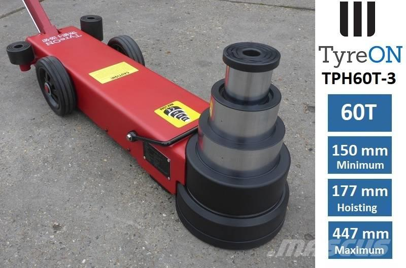 TyreOn TPH60T-3 | Air-Hydraulic Jack | 60T - Three-stage