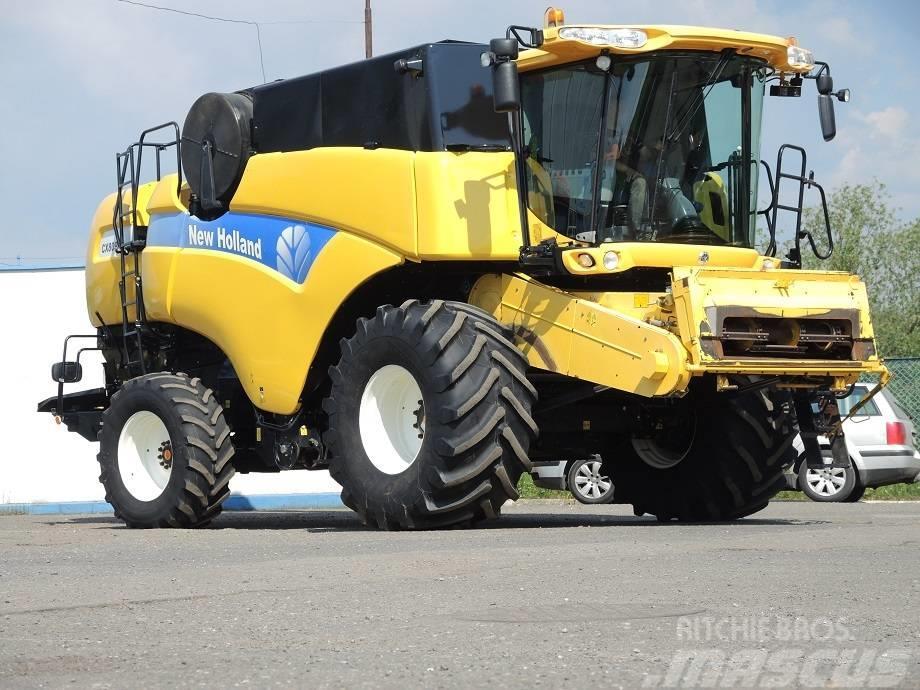 New Holland CX 8080 - VARIO 7.32 M - 2007 ROK