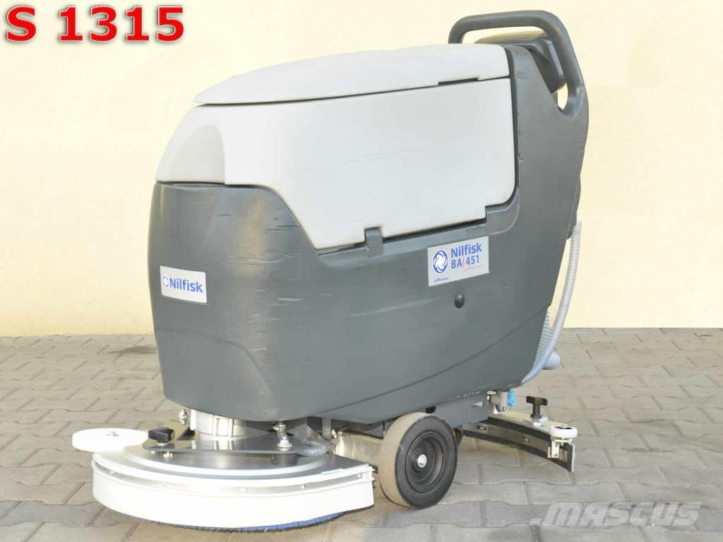 [Other] Scrubber Dryer NILFISK BA 451
