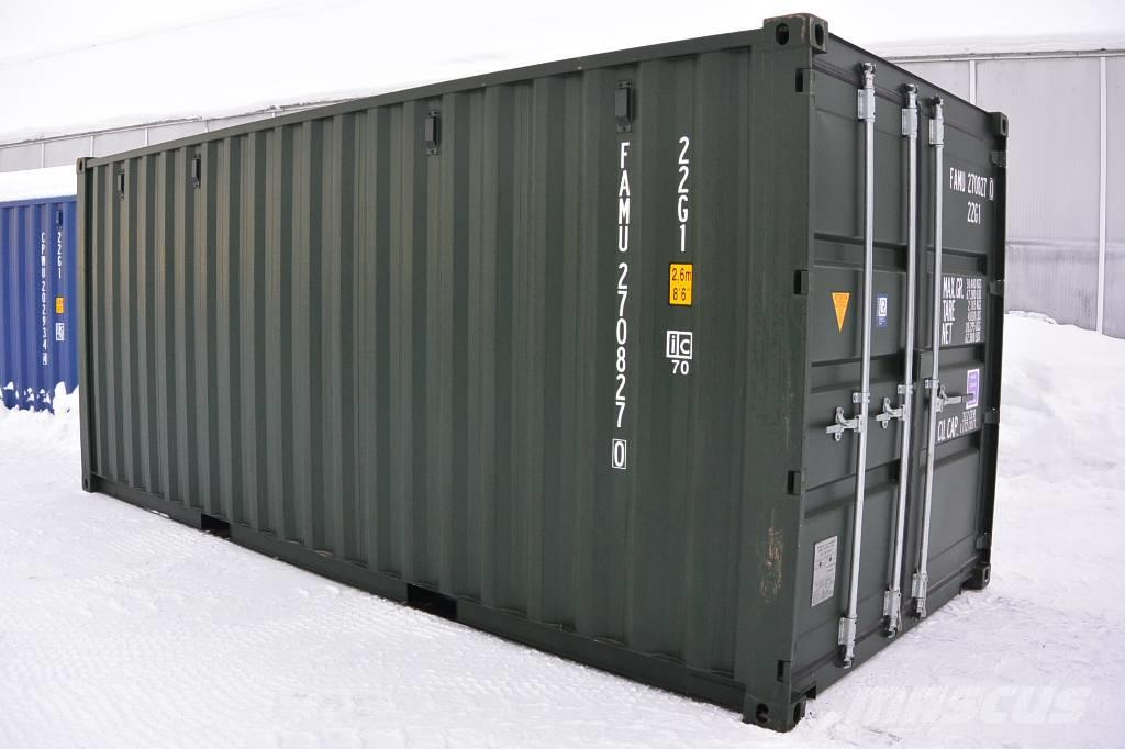 [Other] container grön 20fots m extra ventilation
