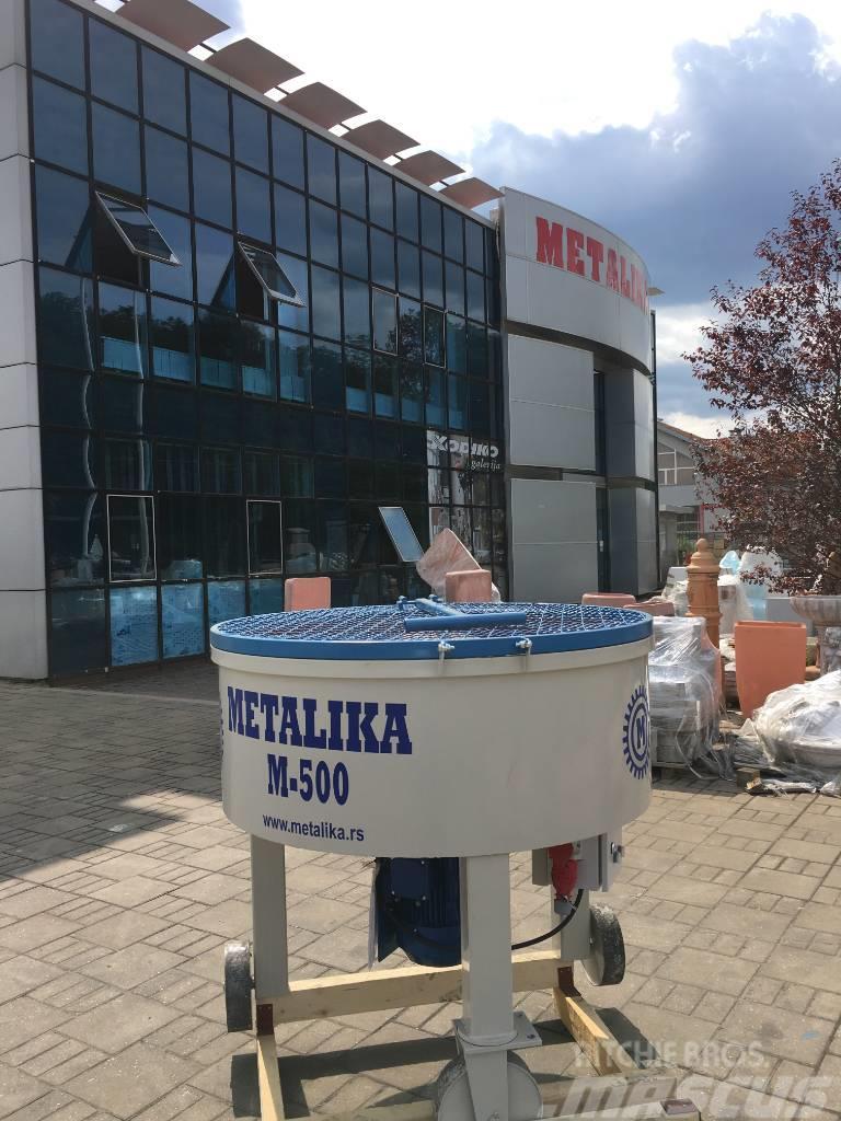 Metalika M 500 Concrete Mixer Mixer For Concrete 2019 Sopot