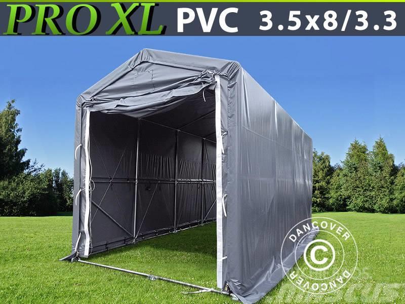 Dancover Storage Shelter 3,5x8x3,3x3,94m PVC, Telthal