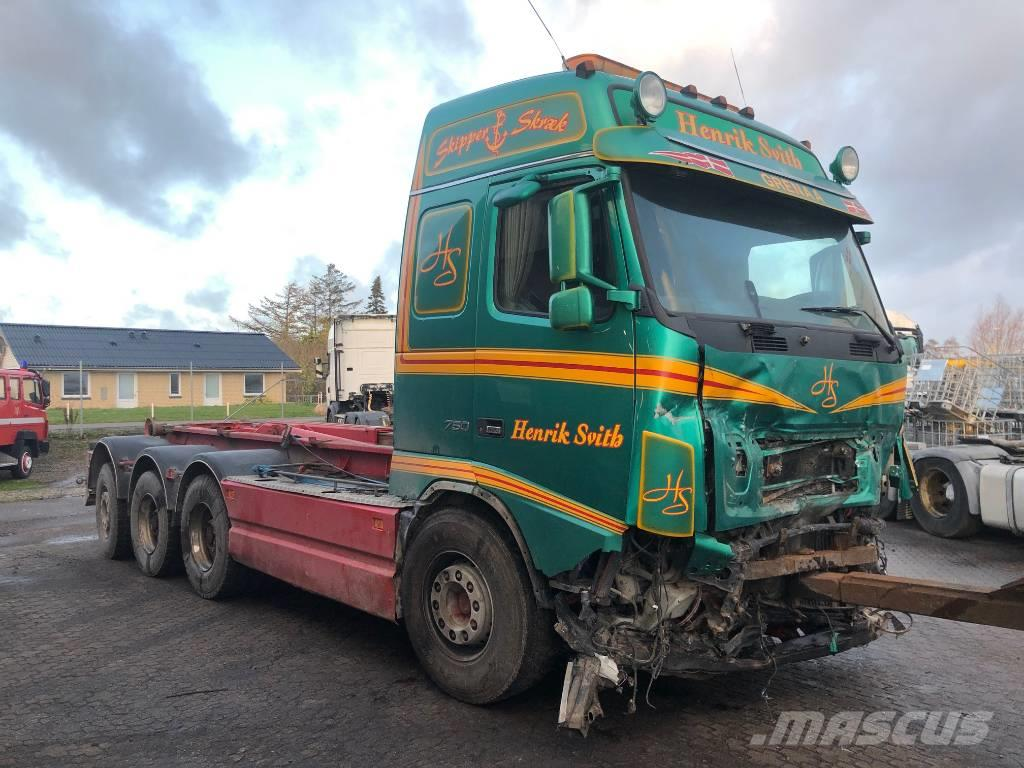 Volvo FH16 750 / 8X4 / KROGHEJS