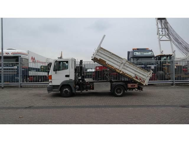 Nissan ATLEON 80.14 TIPPER TRUCK WITH HIAB 017T CRANE 47.