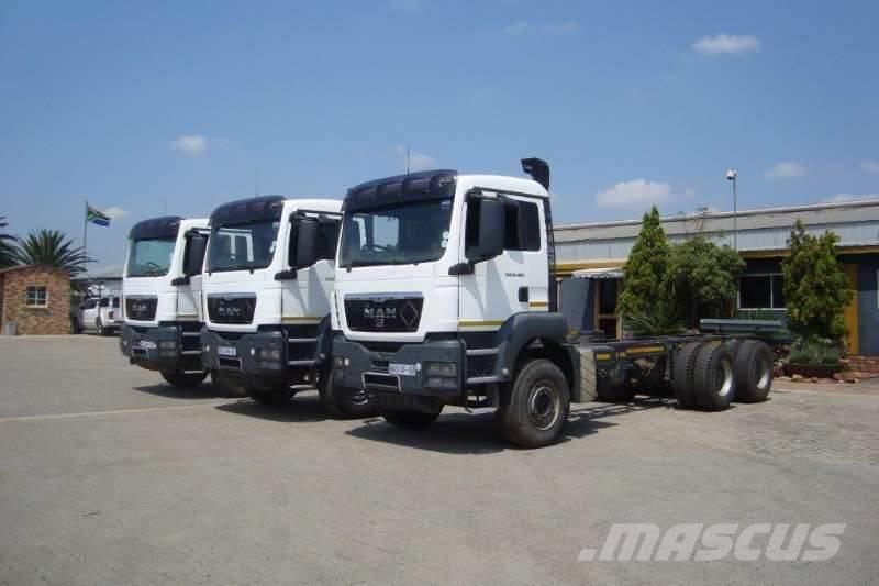 MAN 33.480 MAN TGS CHASSIS CAB DAY CAB
