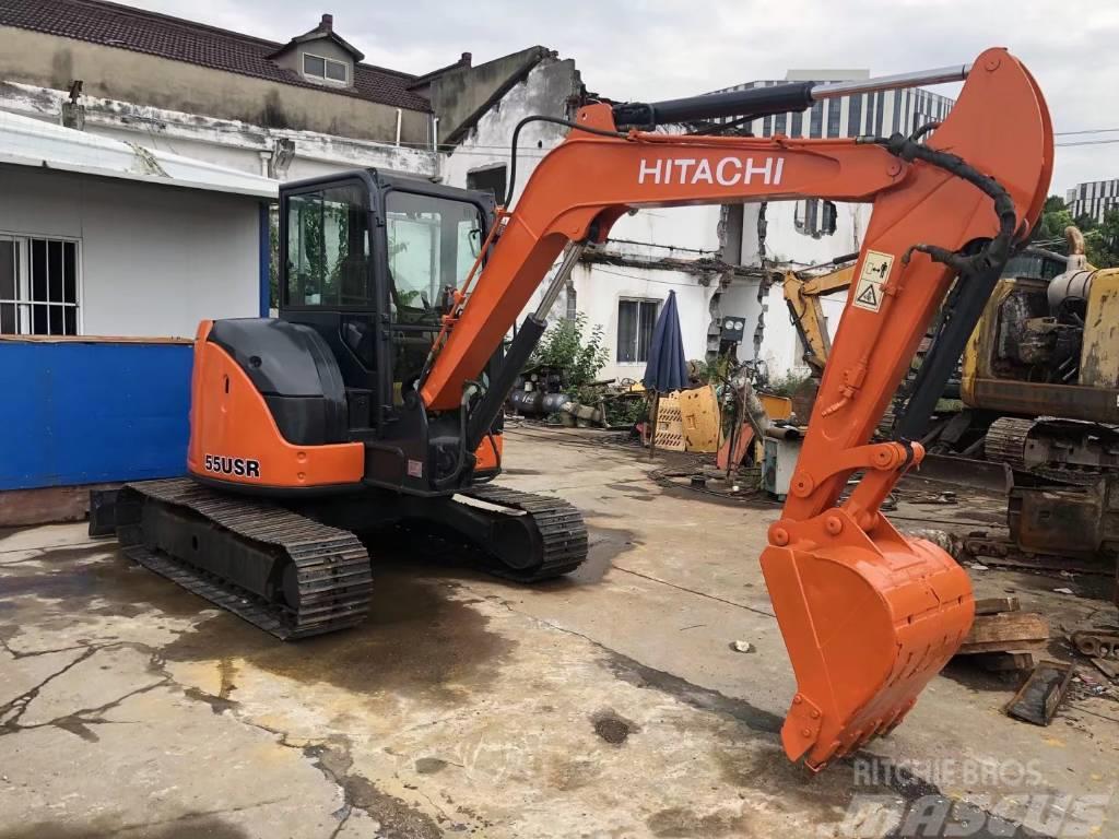 Hitachi ZX55USR  ZX75USR挖掘机