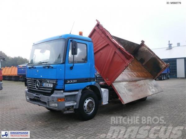 Mercedes-Benz Actros 3331 6x4 Meiller 2-way tipper 13 m3