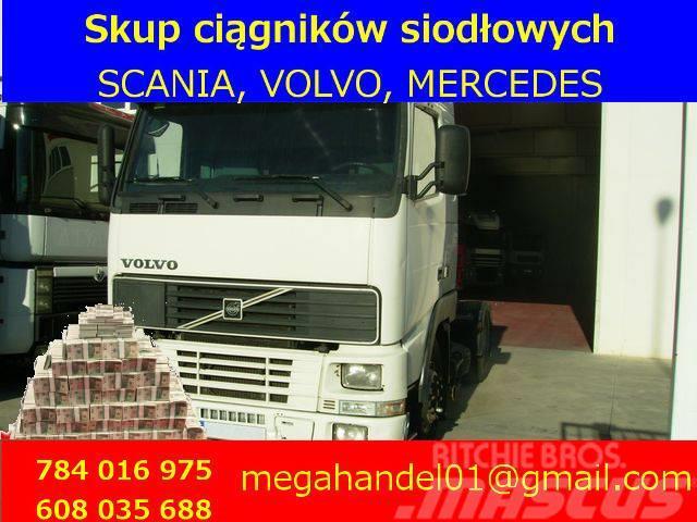 Volvo SKUP CIĄGNIKÓW SIODŁOWYCH