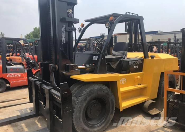 Toyota 10 t forklift FD100 HOT SALE AND HIGH QUALITY