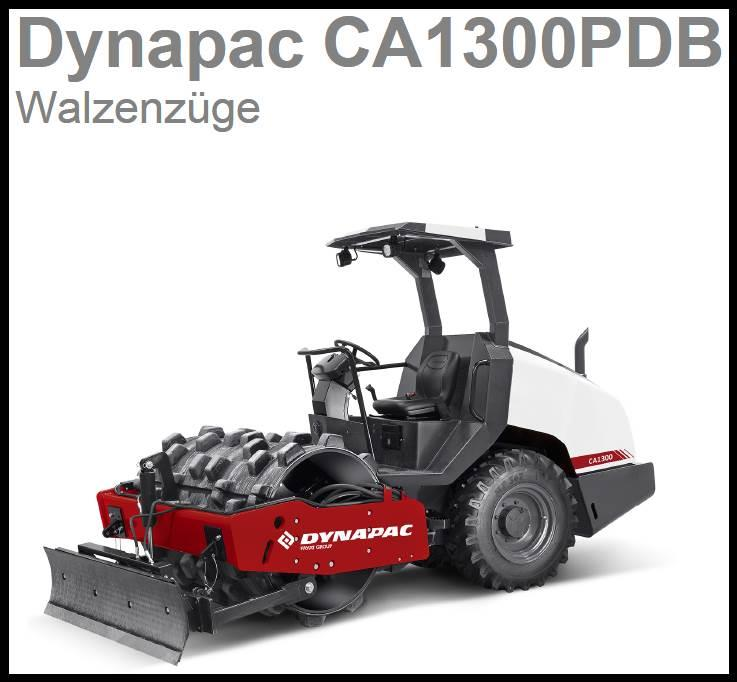 Dynapac Walzenzug CA1300PDB mit Räumschild