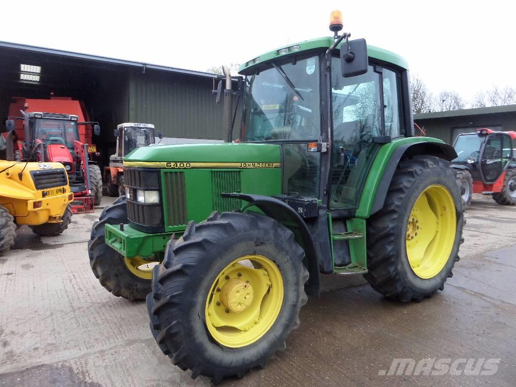 used john deere 6400 tractors year 1995 price 21 793 for sale mascus usa. Black Bedroom Furniture Sets. Home Design Ideas