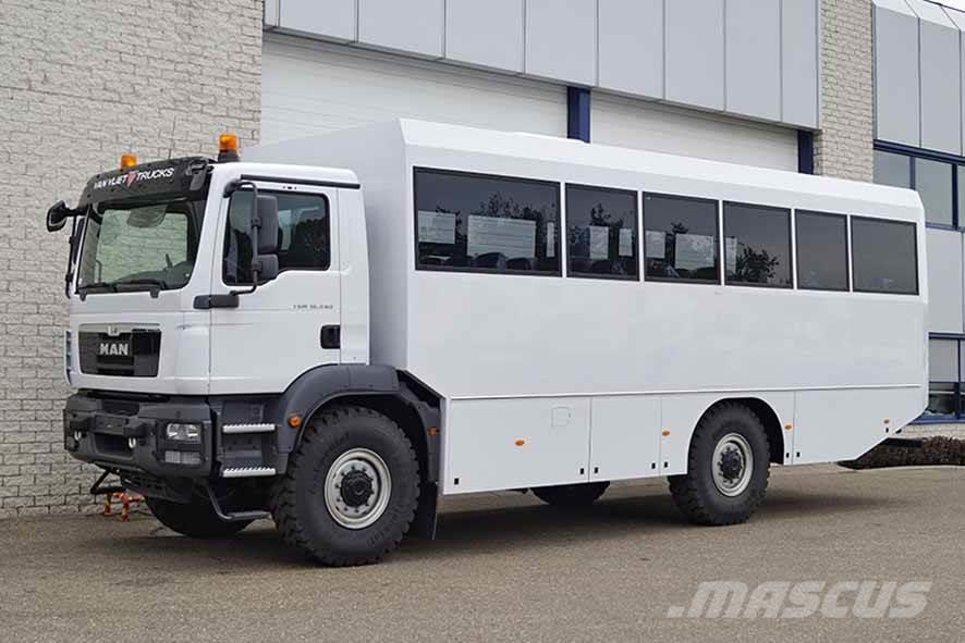 MAN TGM 18.240 BB 4X4 BUS (2 units)