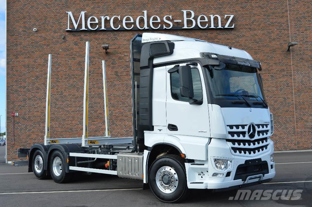 mercedes benz arocs 2551 timber trucks price 137 187. Black Bedroom Furniture Sets. Home Design Ideas