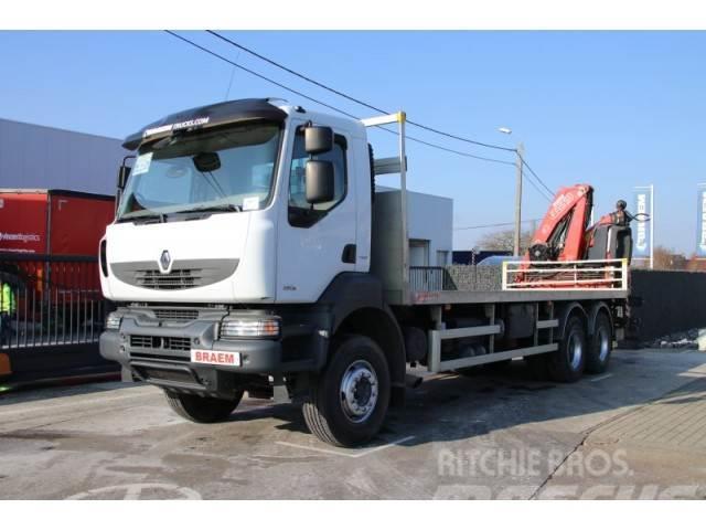 Renault KERAX 380.26 + FASSI 170A23
