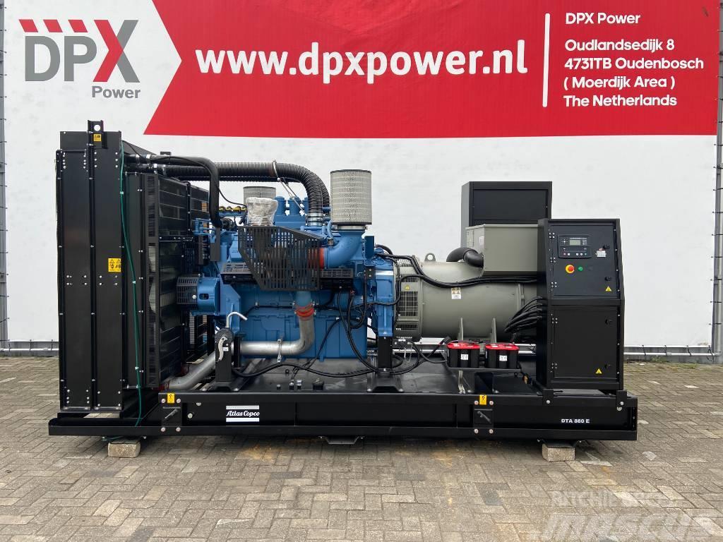 Atlas Copco DTA 880 - MTU - 880 kVA Generator - DPX-19419-1