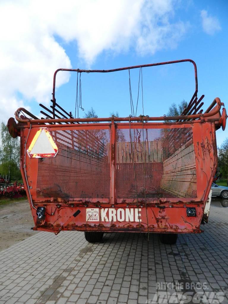Krone HSL-4502, Self loading trailers