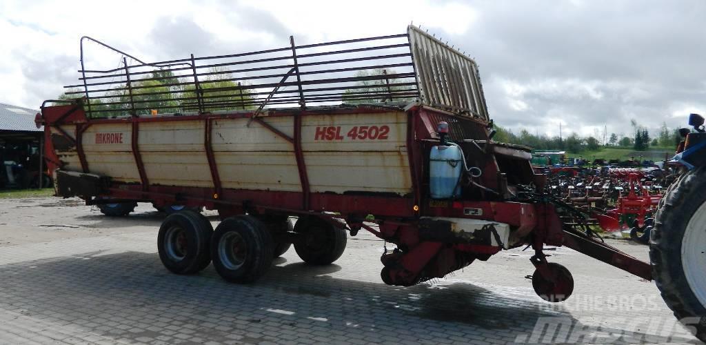 Krone HSL-4502, Hackvagn / Självlastarvagn