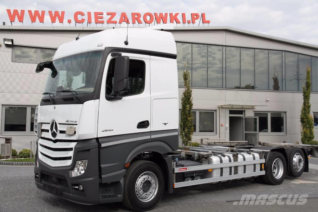 Mercedes-Benz ACTROS 6x2 2543 E6 BDF LOW DECK MEGA LIKE NEW 2016
