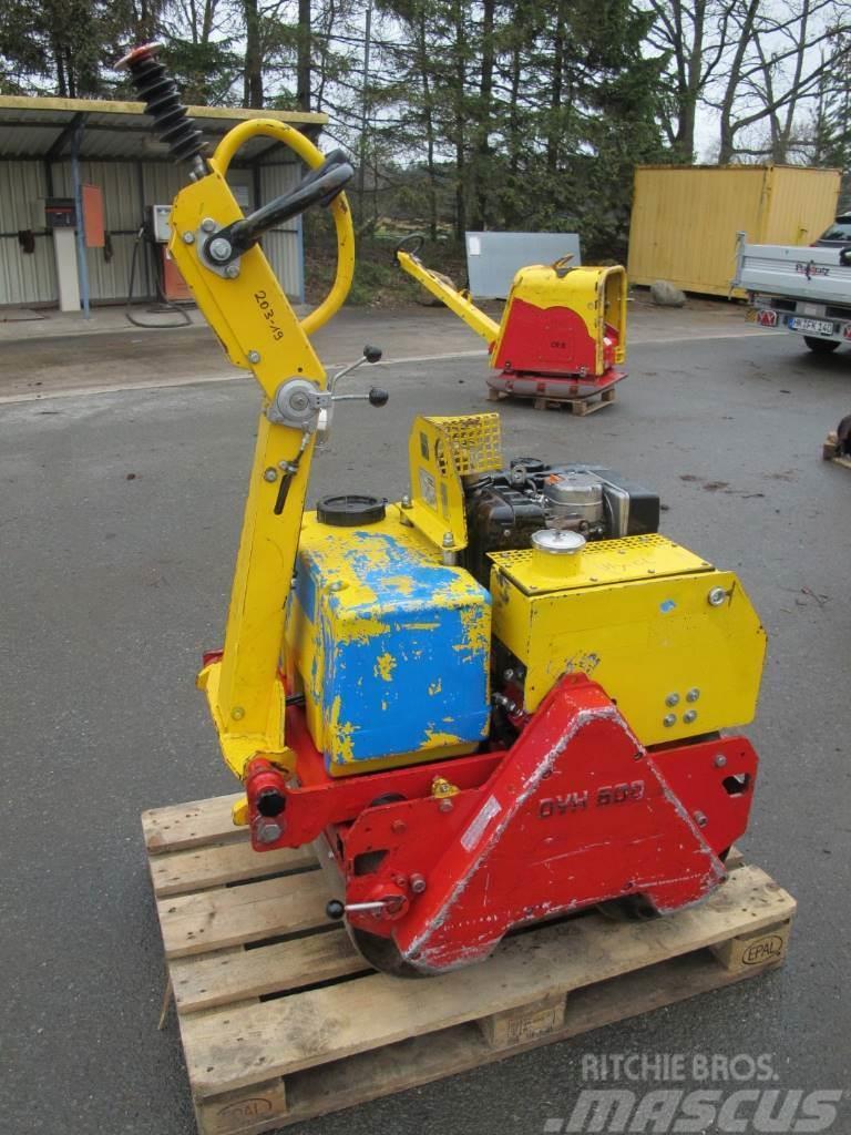 Weber DVH 600 Duplexwalze Rüttelwalze 420 KG