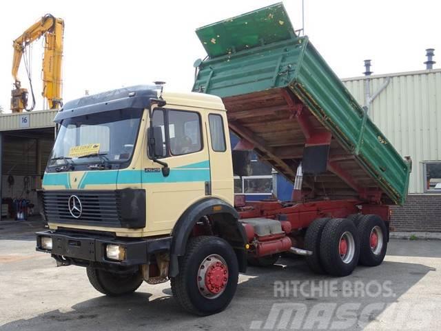 Mercedes-Benz 2629 Kipper 6x6 V8 Good Condition