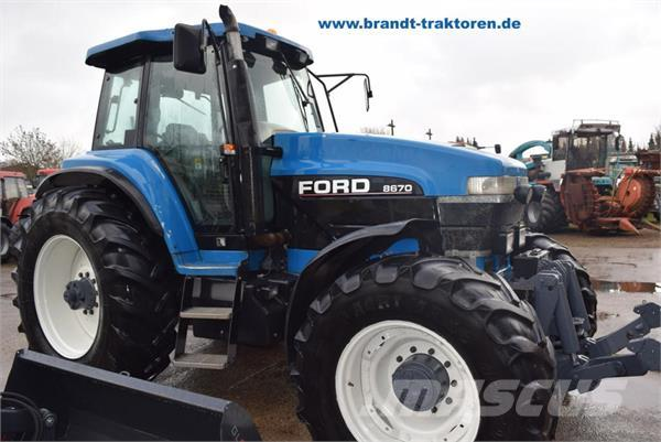 New Holland 8670 TA