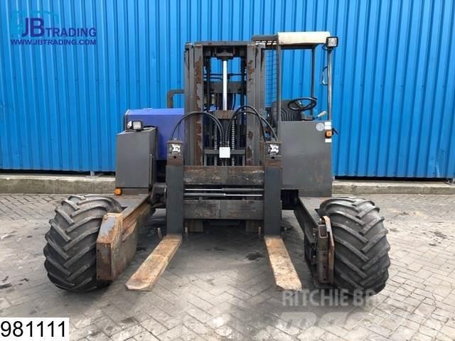 Transmanut TRX 3x3, Kooiaap  / Heavy terrain Forklift, Max 3.