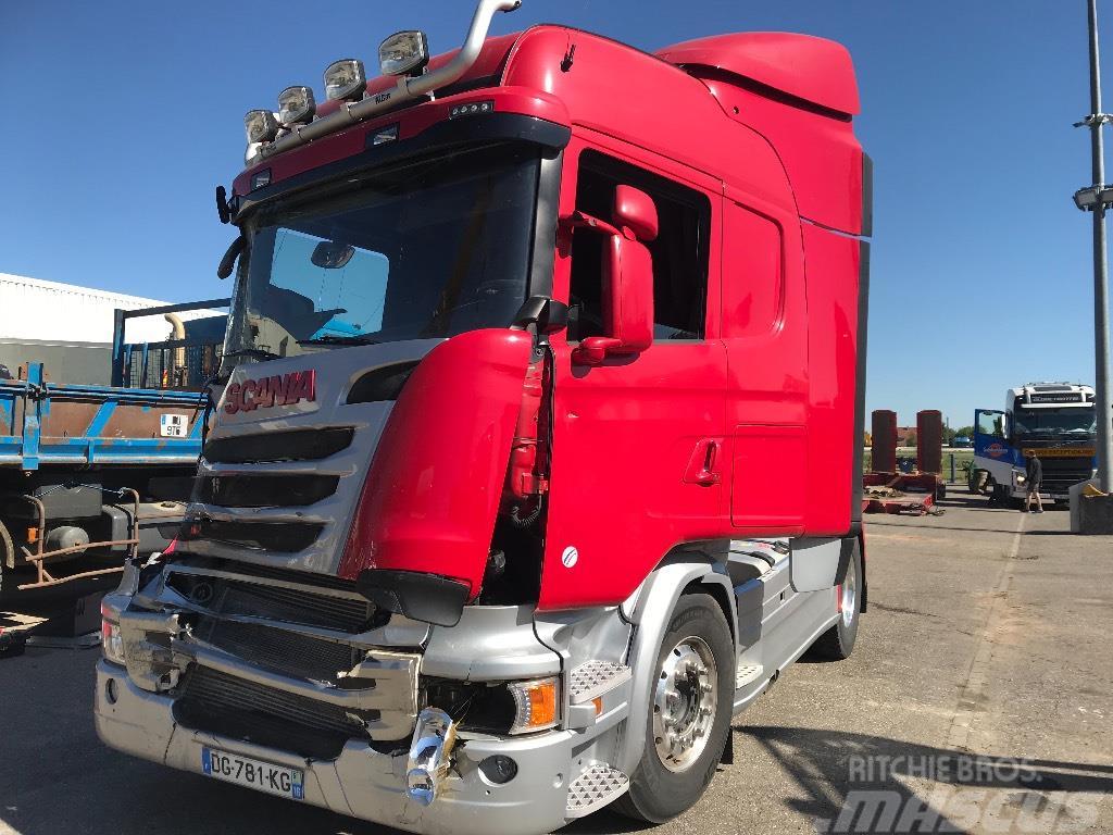 Scania SCANIA R490 HighLine *ACCIDENTE*DAMAGED*UNFALL*