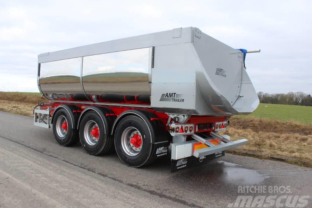 AMT KB310 3 akslet asfalt bagtipkærre