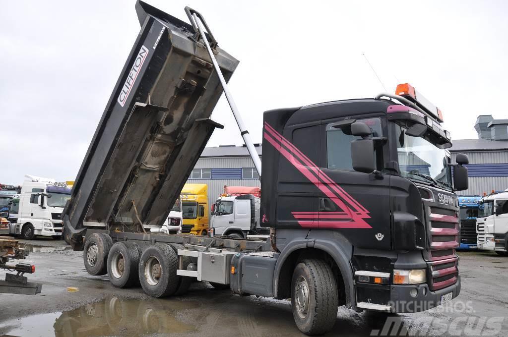 Scania R620  8X4*4