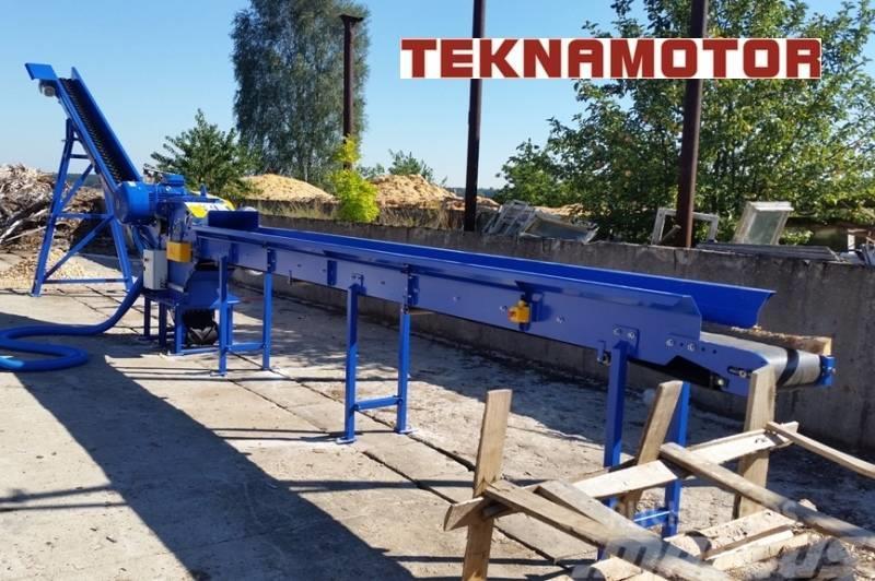 Teknamotor SKORPION 350 EB houtversnipperaar