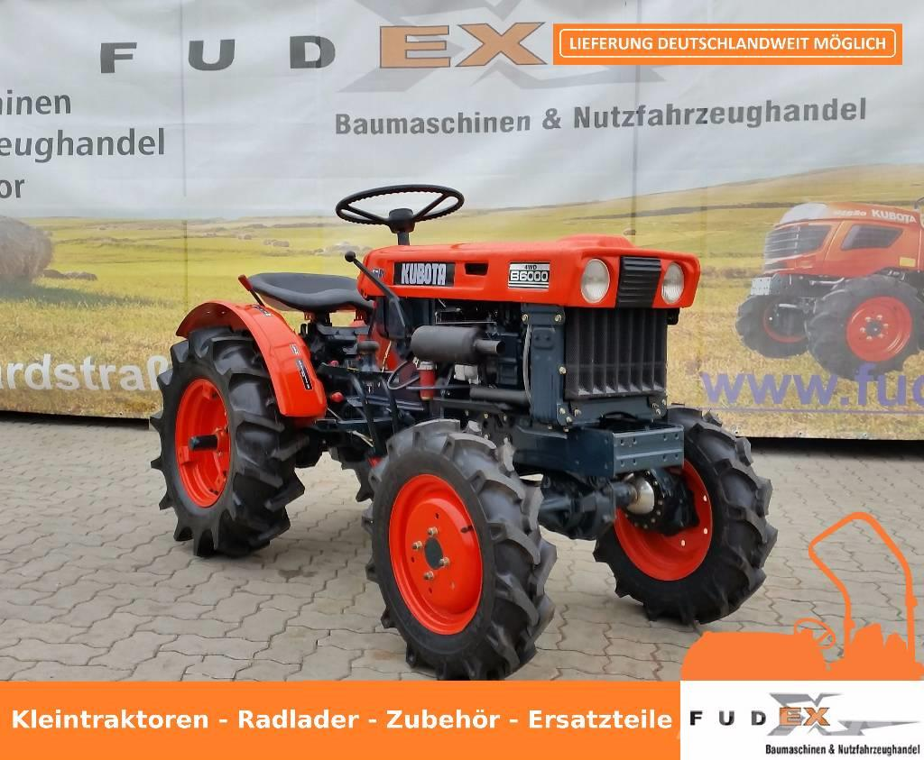 kubota b 6000 occasion, prix: 2 815 € - tracteur kubota b 6000 à