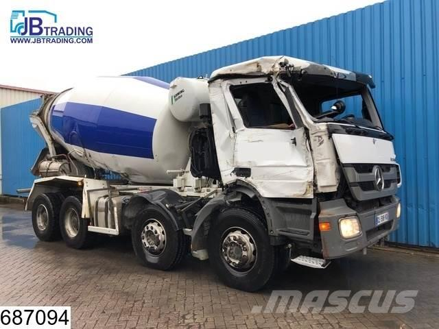 Mercedes-Benz Actros 3241 8x4, EURO 5, EPS 16, 3 Pedals, 9 M3 St