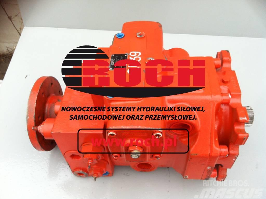 O&K RH 120 Rexroth Pompa Pump A4V 250