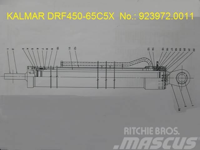 Kalmar DRF450-65C5X Extension cylinder No.923972.0