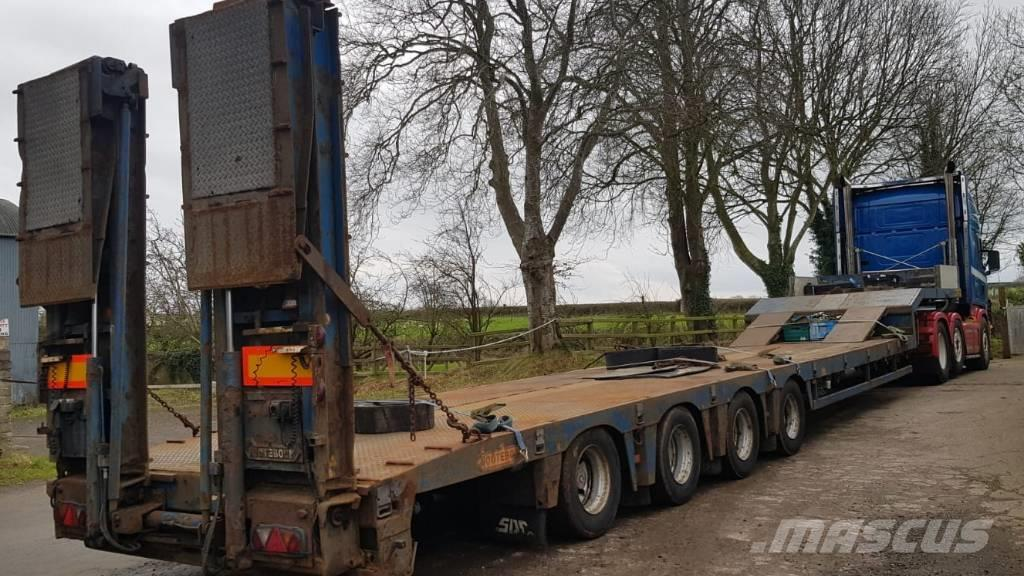 Nooteboom 4 Axle Step Frame Extendable Low Loader