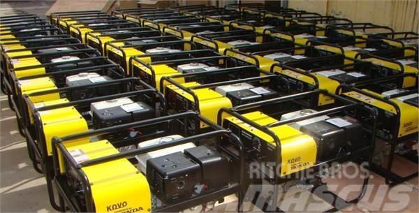 Used Honda welder generator EW240G diesel Generators Year ...