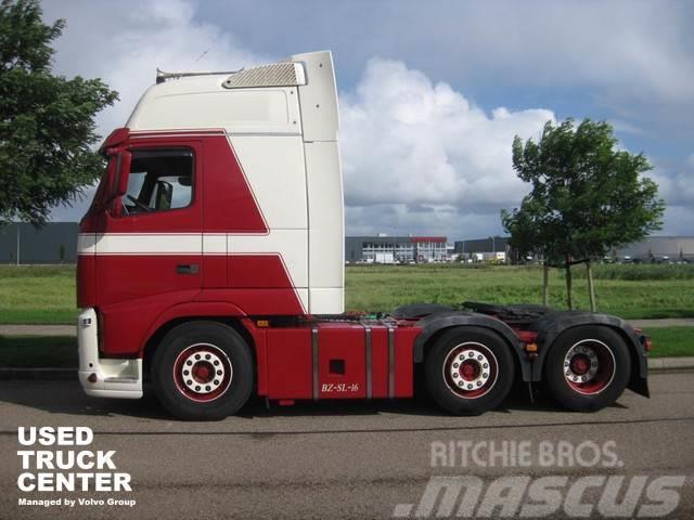 Volvo FH 540 Globetrotter XXL, 6x2 , pusher steerable li