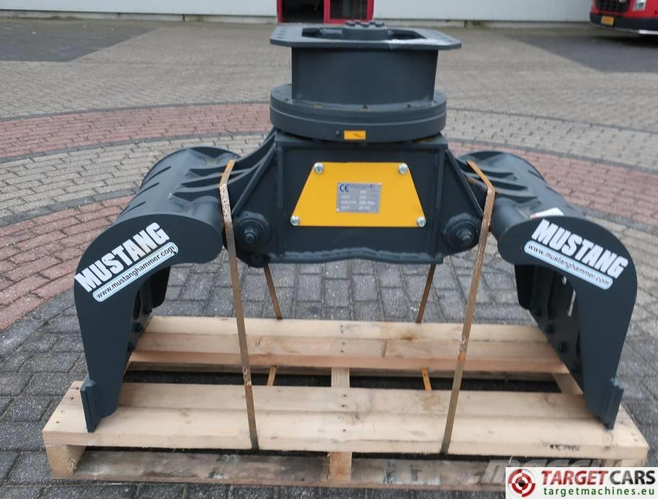 Mustang MG25 Hydr.Rotation Sorting 50cm Grapple 3~8T NEW