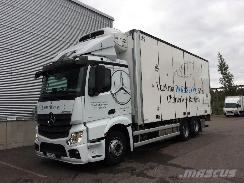 Mercedes-Benz ACTROS 2551, Reefer Trucks ...