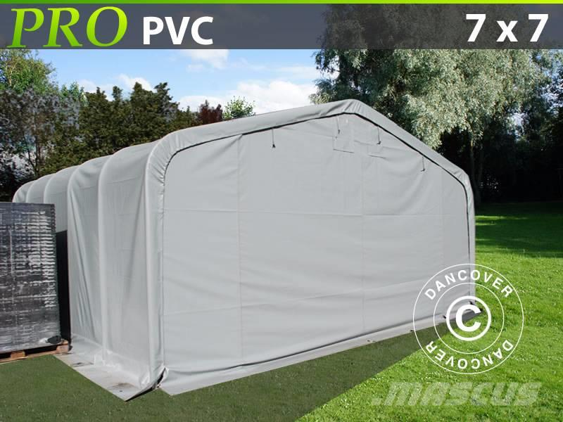 Dancover Storage Shelter 7x7x3,8m PVC Telthal
