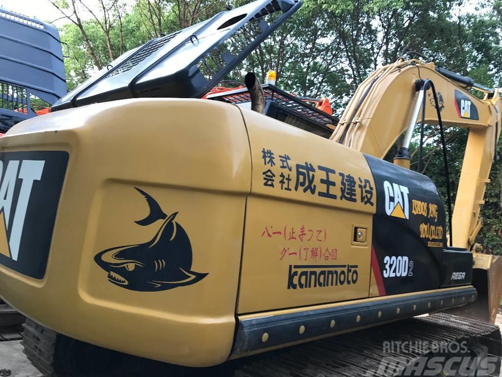 Caterpillar caterpillar 320D crawler excavator  for sale