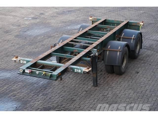 Renders Container chassis 20ft. / Steel suspension