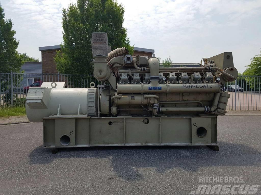 MWM 16 Cillinder Turbo