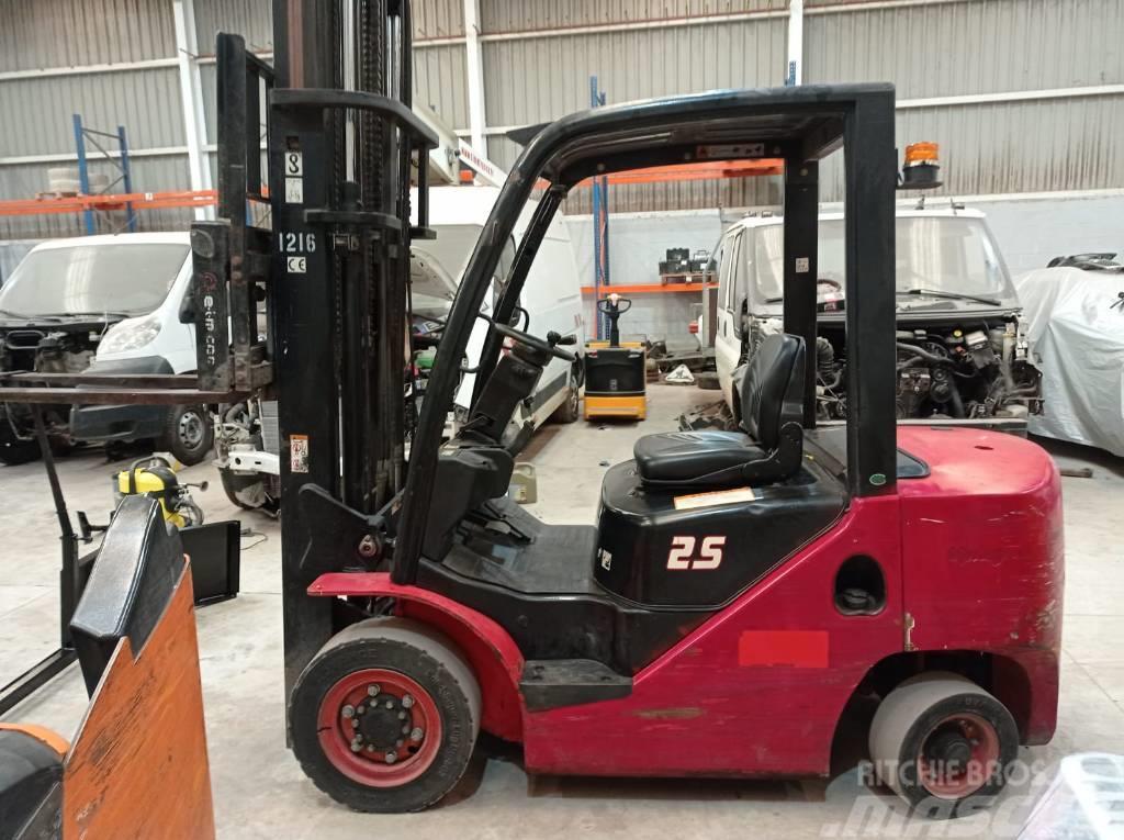 Hangcha CPCD 25 XW32 F 2500kg Forklift