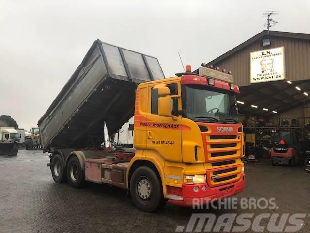 Scania R420 6X2 TIPPER EURO 4