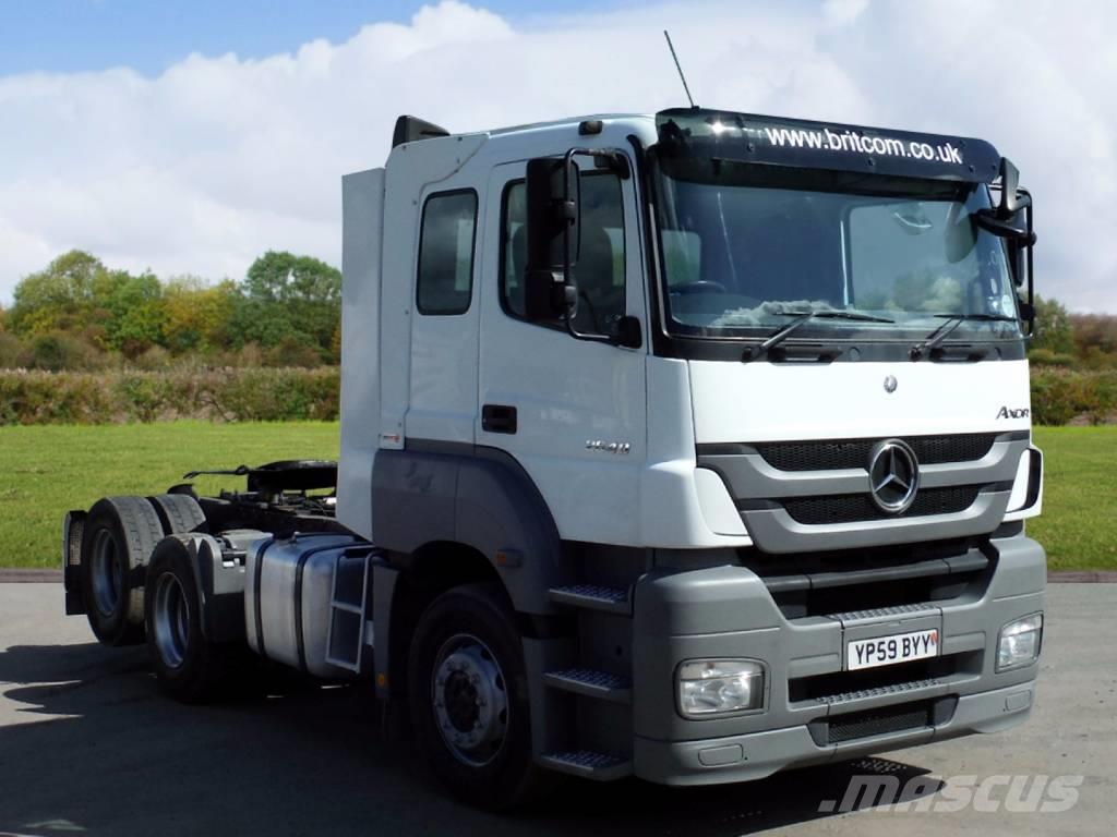 Mercedes benz 1848 axor more information - Mercedes Benz 2640 Axor 6x2 Rear Lift Tractor Unit 2009 Conventional Trucks
