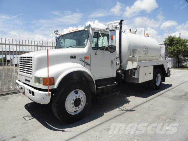 International 4900, 1998, Slamsugningsbil