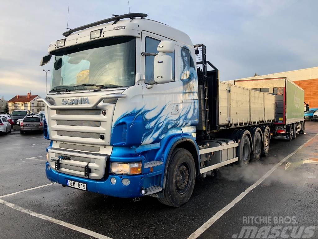 Scania R 480 LB 8x4*4