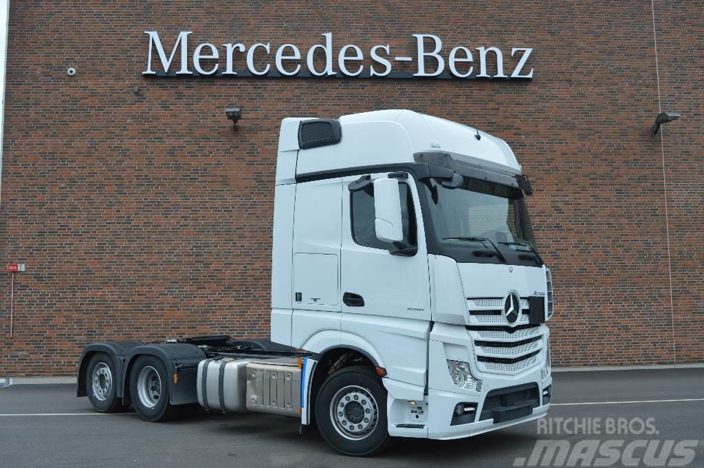 Mercedes-Benz Actros 2553LS Sverigedragare